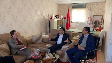 Photo of Special visit of the Consul General of France to the Chamber